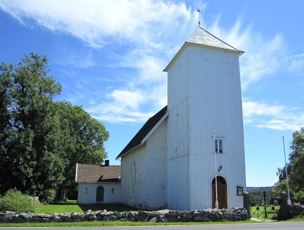 kirken dateres fra 1714 koble til flere lys brytere